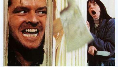 """Photo de la jaquette du film """" The Shining"""", adaptation cinématographique du roman de Stephen King """" The Shining, l'enfant lumière"""""""
