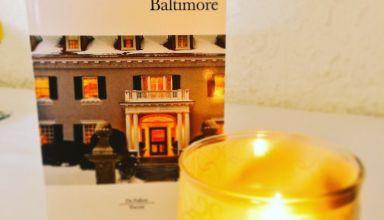 Le livre des Baltimore de Joël Dicker. Photo by me.